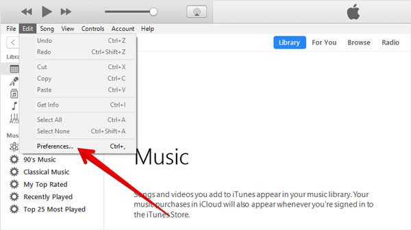 how to transfer music from iphone to computer with icloud
