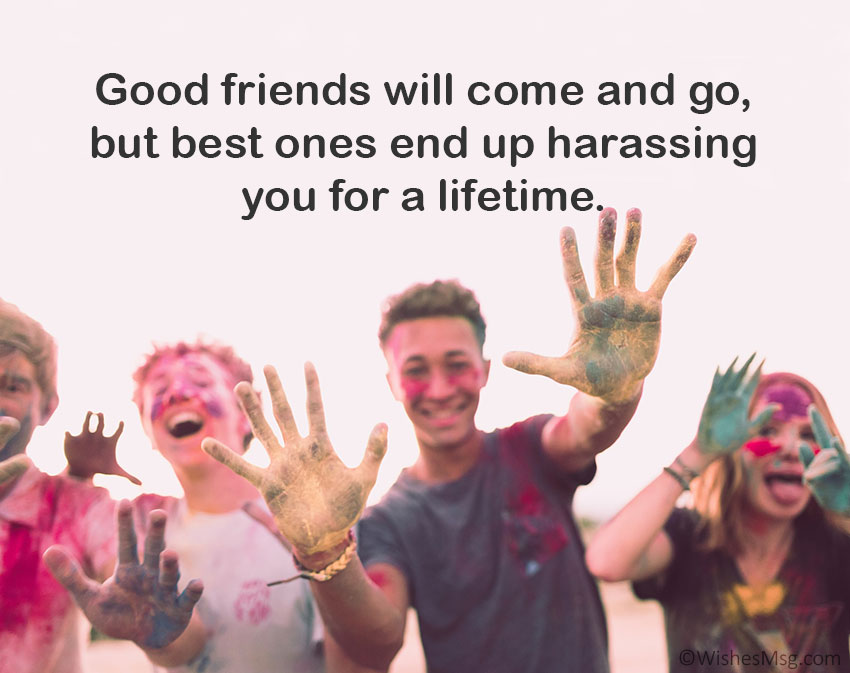 funny messages for best friend
