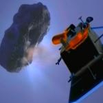 Высадка на комету и взятие образцов