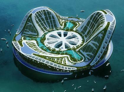 Экологический рай Lilypad