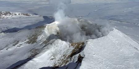 Вулкан удивительной красоты