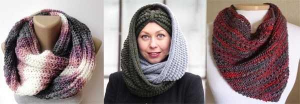 длина вязаного шарфа размеры шарфов таблицы размеров таблицы