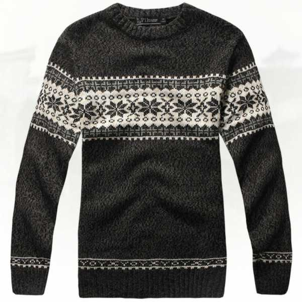 b79c0e19df5 Джемпер мужской стильный – Модные мужские свитера осень-зима 2018-2019