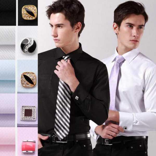 011e1092318 Мужчинам рекомендуется надевать в офис рубашку с запонками только с  классической одеждой  строгими брюками