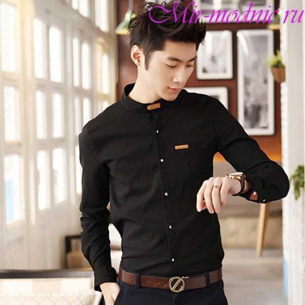 f229f197215 Такие рубашки могут быть с короткими рукавами и даже без них. А модели с длинным  рукавом стильно носить подкатанными или собранными в складки до локтей.