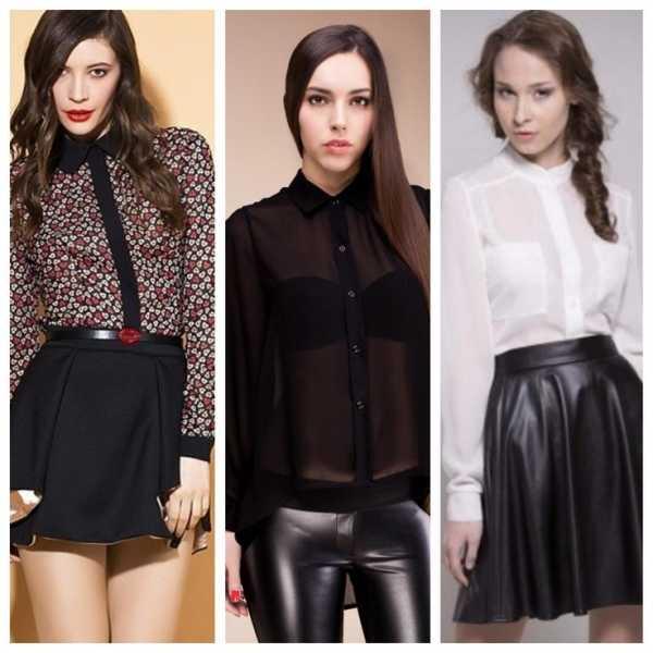 840f9e349f8 В коллекцию модных женских рубашек 2018-2018 года вошли все те же фасоны  блузок