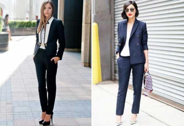 713e57c8f0f Такой фасон может полностью быть идентичен мужскому комплекту с брюками и  пиджаком либо быть стилизован под него