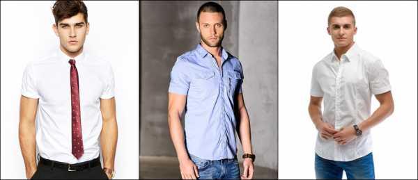 01597c3e58b Рубашка короткая – Виды мужских рубашек  подробная классификация с ...