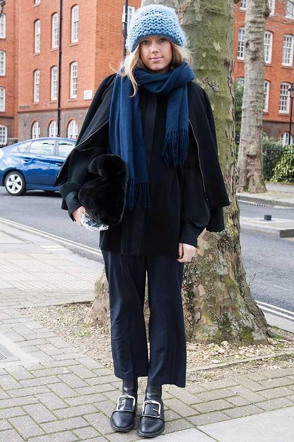 с каким головным убором носят пальто какой головной убор носить с