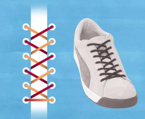 ac3f39be Завязать кроссовки – как правильно зашнуровать обувь с бантиком или ...