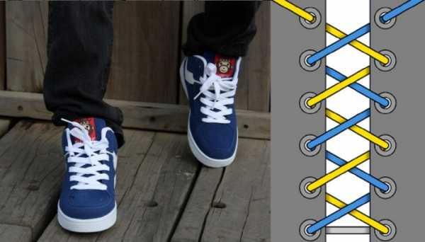 880800611 Завязать кроссовки – как правильно зашнуровать обувь с бантиком или ...